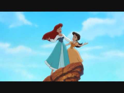 here on the land and sea japanese little mermaid 2
