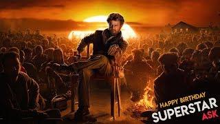 A Tribute to Superstar Rajinikanth | Birthday Special Mashup | Whatsapp Status video