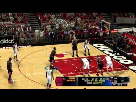 NBA 2K14 Miami Heat VS Chicago Bulls