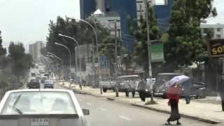 Bole road in  Addis