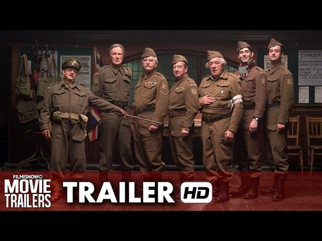 Dad's Army Official UK Trailer (2016) - Bill Nighy, Catherine Zeta-Jones [HD]
