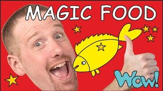 Magic food for kids | English stories for children | Steve and Maggie from Wow English TV