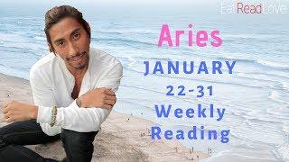 "ARIES SOULMATE ""NOW THEY MET THE REAL ARIES!"" JAN 22-31 WEEKLY TAROT READING"