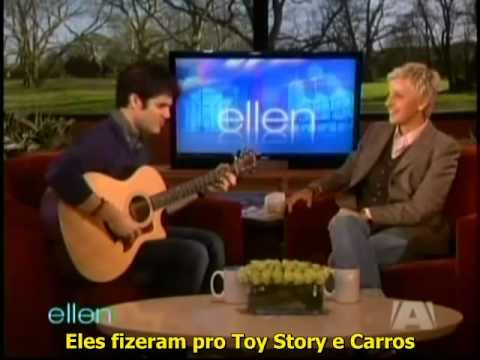 Darren Criss on Ellen DeGeneres - Legendado PT - BR