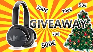 HUGE GIVEAWAY 🎁 // THANKS FOR 300.000 SUBSCRIBERS // MERRY CHRISTMAS 🎄