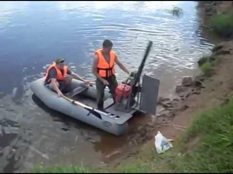 Аэросани-лодка своими руками