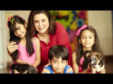 Watch! Farah Khan on Animal Adoption & Organ Donation!