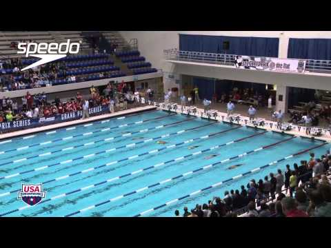 Men&#039;s 100m Butterfly A Final - 2012 Indianapolis Grand Prix