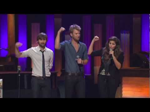 2011 Mda Telethon Performance - Lady Antebellum just A Kiss video