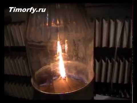 Керосиновая лампа самодельная