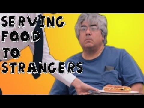 Prank - Serving Food to Strangers