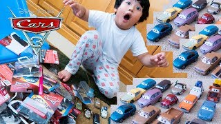 Unboxing 2019 CASE Disney Cars 3 Toy Haul Diecast Cars Jenni Towland Todd Krash Andrew Vrooman