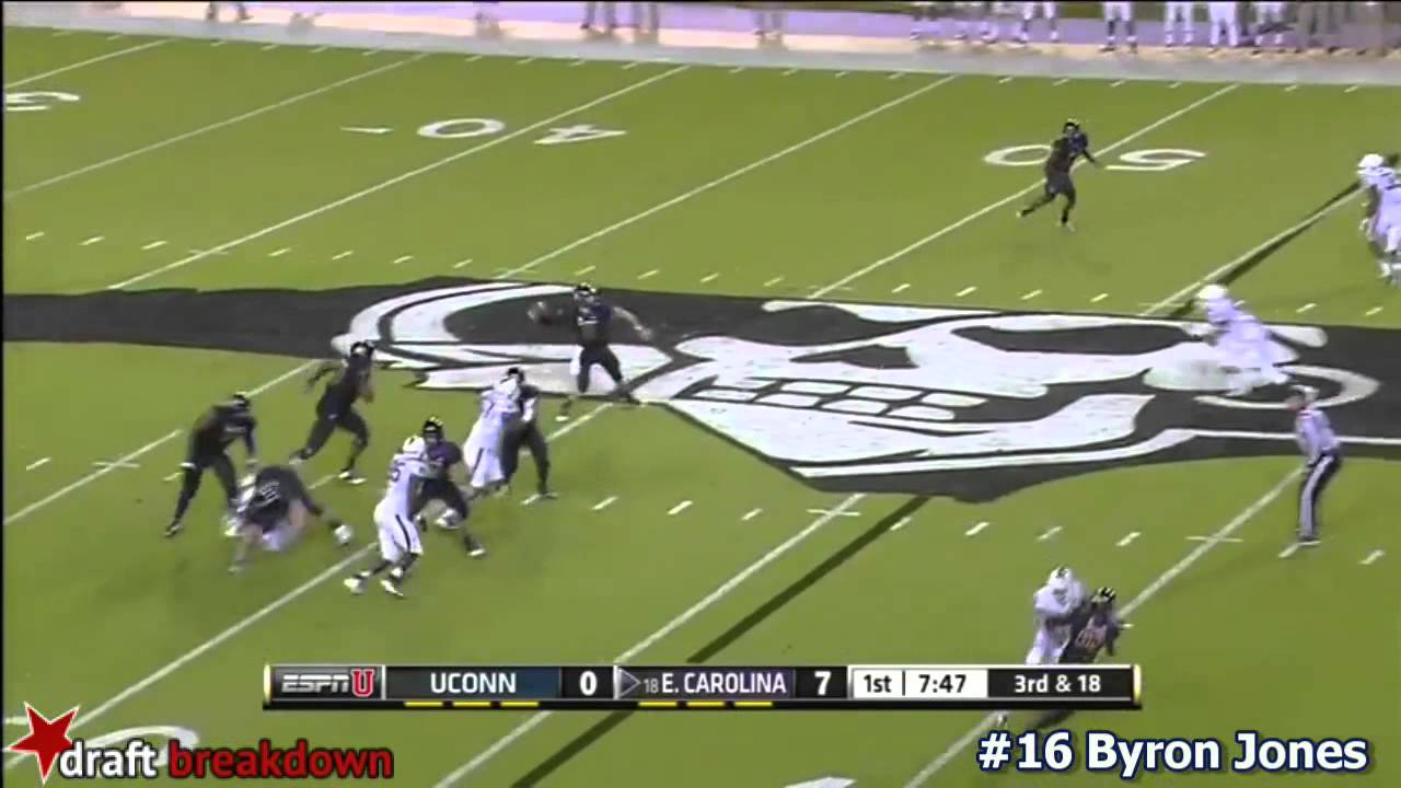 Byron Jones vs East Carolina (2014)