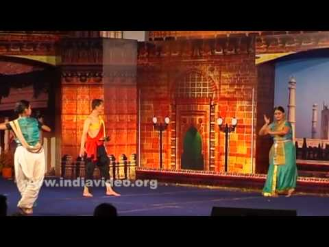 A dance performance by Poushali Chatterji from Manipur
