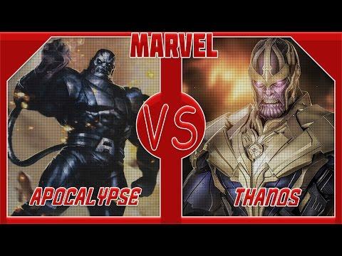 Танос VS Апокалипсис