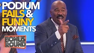 Download Song EPIC PODIUM Family Feud Fails & Funny Moments With Steve Harvey! Free StafaMp3