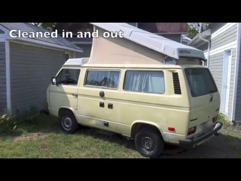 1982 Volkswagen Vanagon Westfalia Upgrades