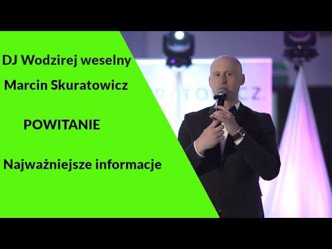 CZEŚĆ!  DJ/Wodzirej Na Wesele Marcin Skuratowicz