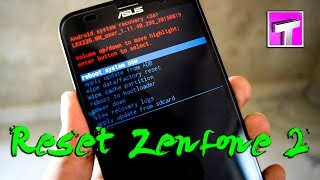 Asus Zenfone 2 Laser Hard Reset / Unlock ZE550KL Pattern Lock (Tutorial) With Key