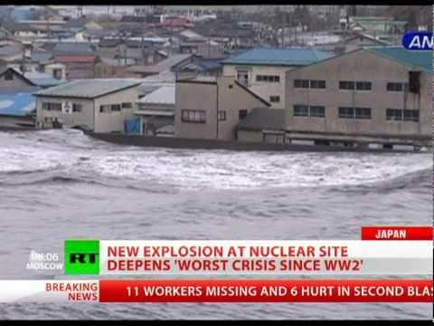 New hydrogen blast at Fukushima nuclear reactor after Japan quake-tsunami
