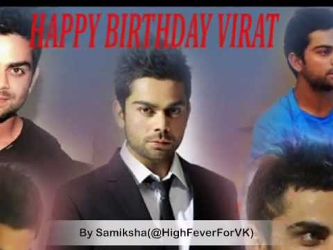 Happy Birthday Virat Quotes ~ Happy birthday virat kohli indian cricket super star 4214649