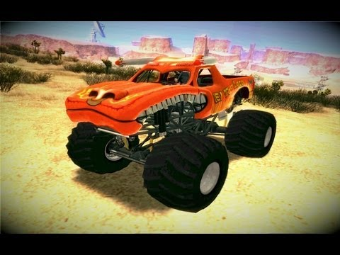 El Toro Loco Monster Truck(Gta San Andreas Car Mod)
