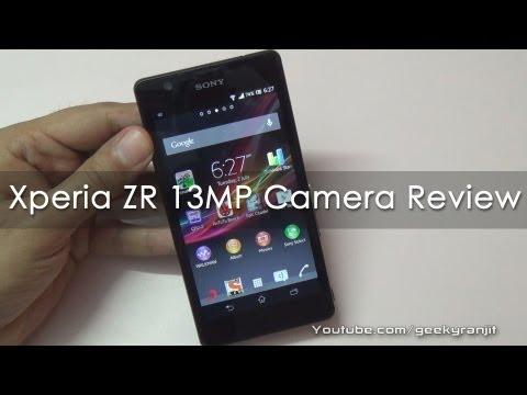 Sony Xperia ZR 13 MP Camera Review