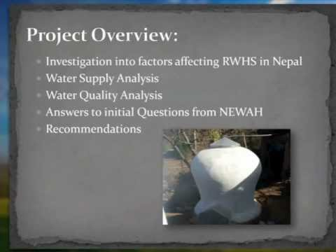 Rainwater Harvesting in Rural Hilly Regions of Nepal