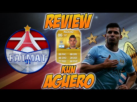FUT15 | Player Review | Sergio Aguero (BU : 86) ! [FR]