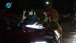 Brandlucht duinbrand Schoorl reikt tot Heiloo (12 juli 2018)