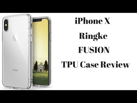 iPhone X Ringke Fusion Case Review
