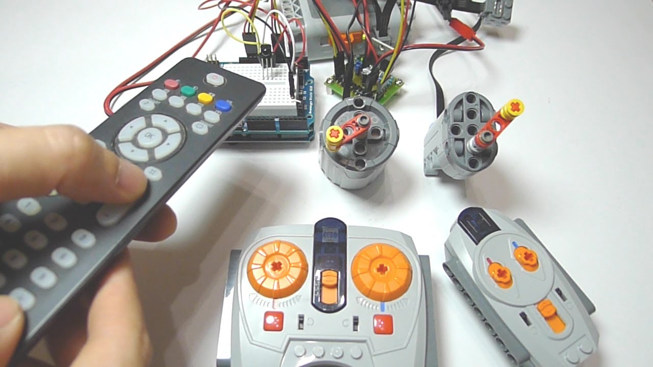 Arduino Controlling Lego Power Functions Motor Part 2 Ir