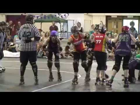 GLADISKATERS - The SW:UK Series Roller Derby Double Header FINAL
