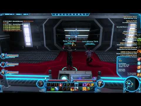 SWTOR: +10 Stats Lv50 Datacron Walkthrough Imperial Fleet
