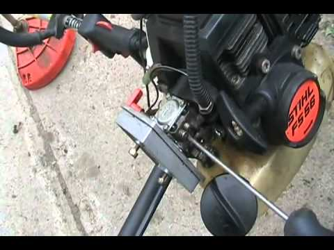 how to adjust carbs on 2 stroke weedeaters and chainsaws Davidsfarmison[bliptv]now