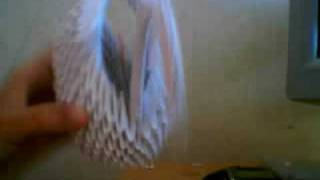 Origami Swan (cisne)