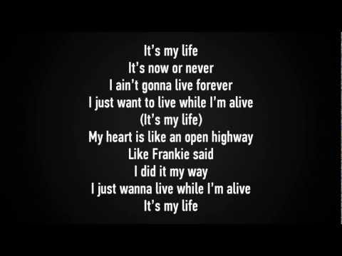 Bon Jovi - It's My Life Lyrics [hd] video