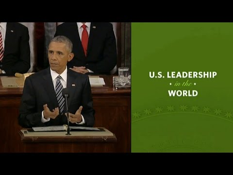 Obama notes Ukraine in his State of the Union Address, 2016