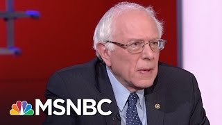 Bernie Sanders Knocks Donald Trump's Scapegoating Strategy | MSNBC