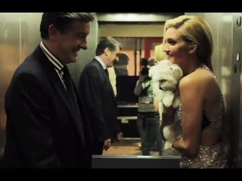 Ashley Roberts behind the scenes at Dancing On Ice 2013  - Backstage Pass