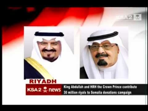 KSA2 News - Saudi Arabia's contribution to Somalia's famine crisis