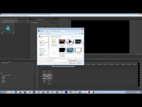 Como usar o Adobe Premiere Pro. VEJAM EM 1080p