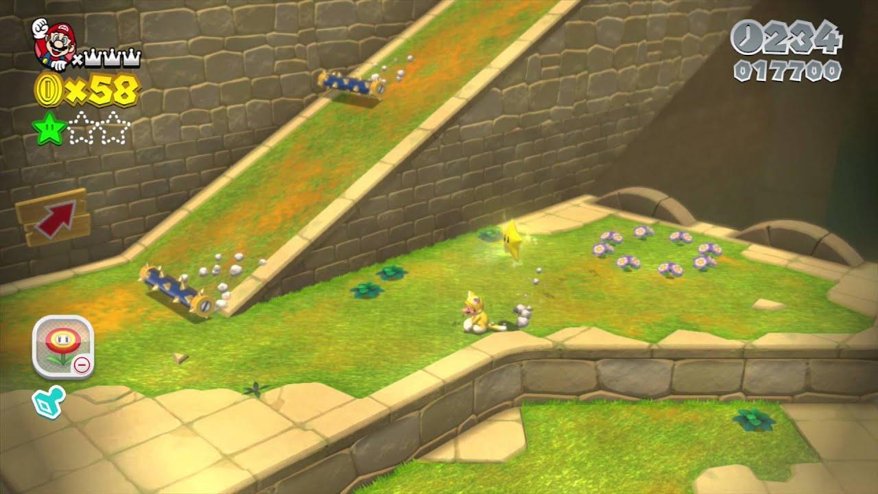 Super Mario D World Spike S Lost City Green Stars