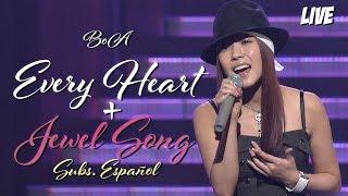Boa Every Heart Jewel Song Live Subs Español Japan Golden Disc Awards 2004 03 12