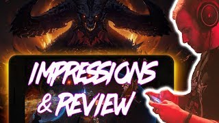 """Diablo Immortal Impressions & Review From The """"boo guy"""""""
