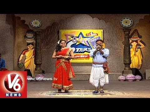 Singers Performing Telangana Folk Songs - Folk Stars Dhoom Thadaka - 3