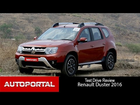 Renault Duster Test Drive Review - Autoportal