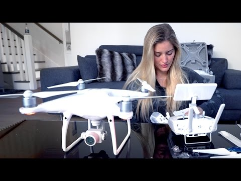 Phantom 4 Pro | Unboxing, review and drone backpack! | iJustine