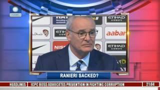 Sports Tonight: Discuss On Ranieri's Sack Pt 1