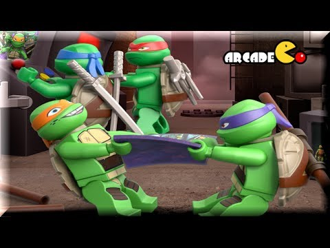 LEGO TEENAGE MUTANT NINJA TURTLES - Turtles Ninja Training - Lego Movie Game